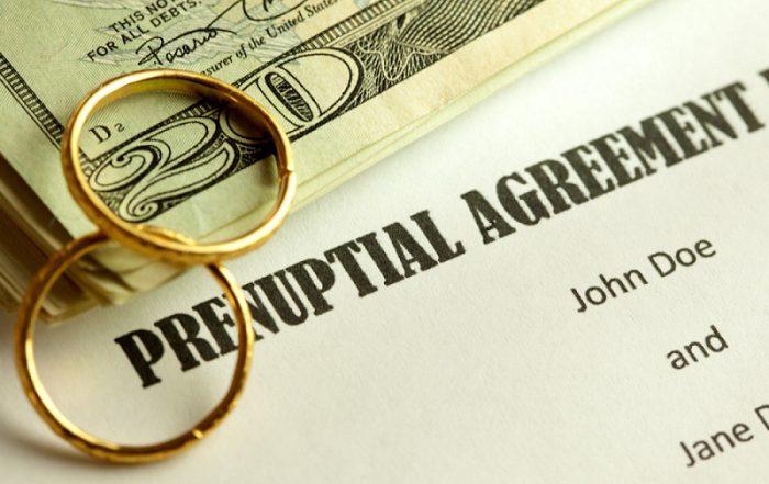 acuerdos prenupciales