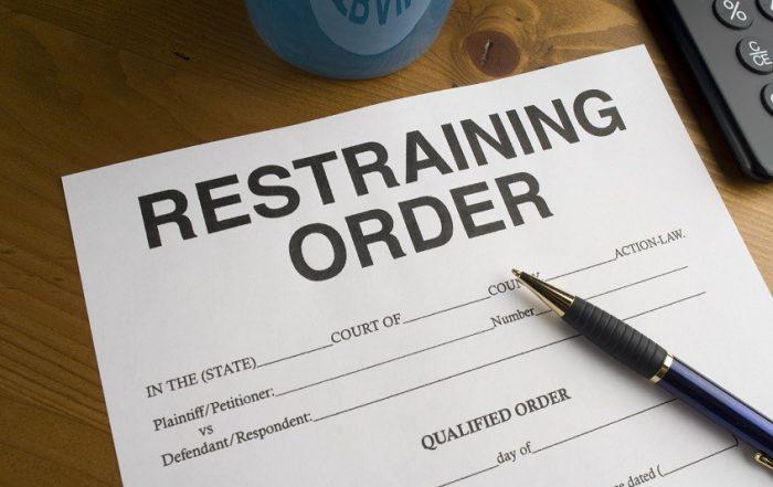 violencia doméstica - orden de restricción