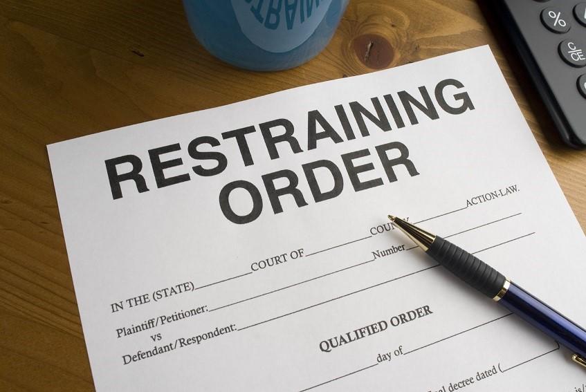 domestic violence - restraining order